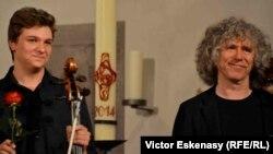 Andrei Ioniță și Steven Isserlis la Kronberg
