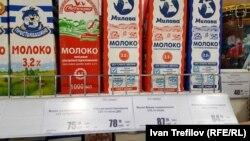 Самое дешевое молоко в Москве – белорусское
