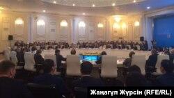 Выездное заседание комитета мажилиса Казахстана по международным делам, обороне и безопасности. Актобе, 19 мая 2017 года.