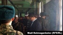 Қуандық Бишімбаев сот үкімін тыңдап тұр. Астана, 14 наурыз 2018 жыл.