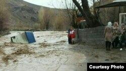 İranda sel, Şərqi Azərbaycan kəndləri