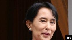 آن سان سو چی، رهبر مخالفان دولت میانمار