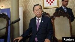 Ban Ki-moon u posjetu Zagrebu, 20. srpanj 2012.