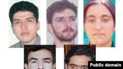 The five people executed by Iran on May 9