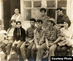 Студенческая маевка. Первая половина 1960-х.