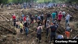 Վրաստան - Ջրհեղեղի հետևանքները Թբիլիսիում, արխիվ