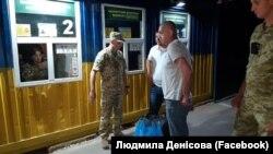 Капітан Віктор Новицький повертається на материкову Україну з Криму, Каланчак, 14 червня 2019 року