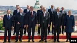 """""""Шығыс әріптестігі"""" елдерінің саммиті. Прага, 24 сәуір 2014 жыл."""