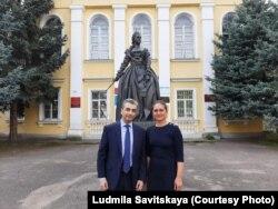 Лев Шлосберг и Софья Пугачева