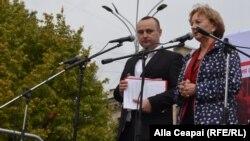 Vlad Batrîncea și Zinaida Greacenîi, Bălți