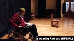 """Orxan Adıgözəl """"Əsa"""" teatrında."""