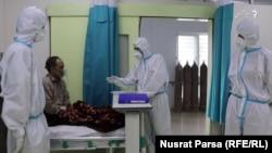 یک شفاخانه درمان بیماران مبتلا به ویروس کرونا در کابل