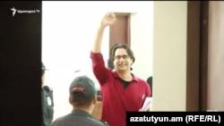 Андриас Гукасян в суде, сентябрь 2016 г.