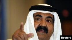Emiri i Katarit, Sheikh Hamad bin Khalifa al-Thani.