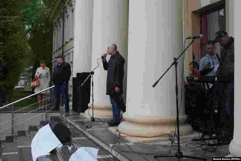 Митинг в поддержку томского телеканала ТВ2