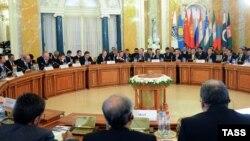 Заседание участников встречи ШОС