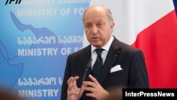 Францускиот министер за надворешни работи Лорен Фабиус.