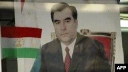 Портрет президента Таджикистана Эмомали Рахмона