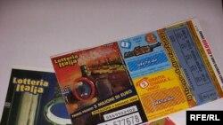 Лотерейні квитки. Гра в лотерею — улюблена національна забава в Італії
