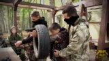 Serbian Teens Play War Games At Russian Paramilitary Camp