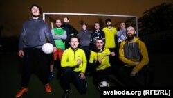 Трэніроўка футбольнай каманды «Аўтазак»