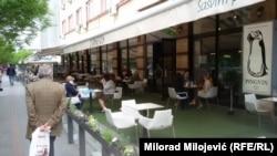 Banjaluka nakon odluke o ponovnom otvaranju kafića i restorana, 11. maj 2020.