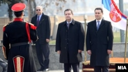 Maqedoni - Viziata e kryeministrit serb, Ivica Daçiq në Maqedoni