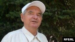 Жазушы Герольд Бельгер. Алматы, 7 тамыз 2009 жыл.