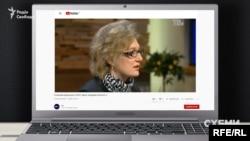 Просуванням ліків від гепатиту С, за даними журналістів УП, Ольга Голубовська займалась ще за часів роботи в МОЗ