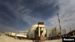 Бушердегі атом электр станциясы. Иран, 26 қазан 2010 жыл.