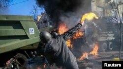 Ukraynada toqquşmalar