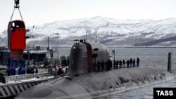 Военнослужащие во время учений с участием подводных лодок в Мурманской области. Ноябрь 2014 года. Иллюстративное фото.