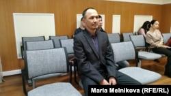 Бывший полицейский Альбек Ергазиев на апелляционном суде, Уральск, 19 февраля 2020 года.