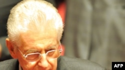 Former EU commissioner Mario Monti (pictured) is regarded as a leading candidate to take over as prime minister after Silvio Berlusconi's departure.