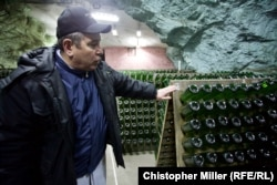 The winery produced 19 million bottles of wine a year before the conflict erupted in eastern Ukraine in 2014.