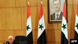 Шема -- Шеман арахьарчу гIуллакхийн министр Муаллем Валид, 2016 шо.