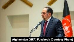 FILE: Afghan Foreign Minister Salahuddin Rabbani