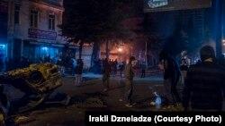 Վրաստան - Մարտի լույս 12-ի գիշերվա իրադարձությունները Բաթումիում