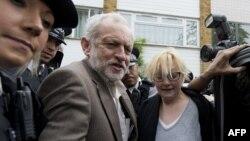 "Britaniýanyň oppozision ""Zähmet"" partiýasynyň lideri Jeremi Korbiniň (Jeremy Corbyn). (Çepden ikinji)"