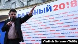 Ресейлік оппозициялық белсенді Леонид Волков.