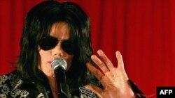 Майкл Ҷексон дар нишасти хабарӣ. Лондон, 5-уми марти соли 2009