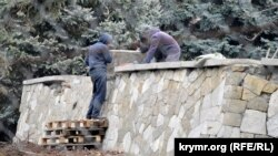 Реконструкция парапета у Синопской лестницы