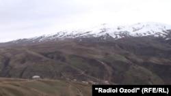Село Бушолак на границе с Афганистаном