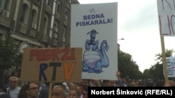 Protest 13. juna 2016.