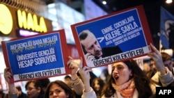 Protesta në Turqi
