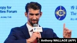 Înotătorul american Michael Phelps