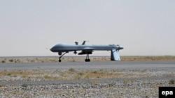 Американський безпілотник Predator на військовому летовищі в Кандагарі в Афганістані, архівне фото