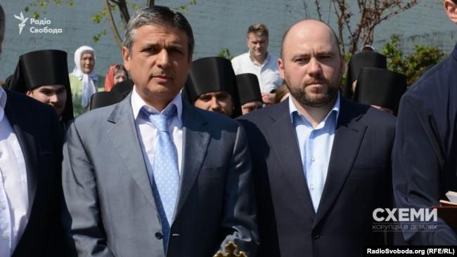 Бізнесмени Вагіф Алієв та Вадим Столар