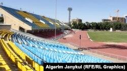 Стадион им. Д. Омурзакова в Бишкеке.