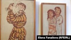 Фрески из замка в Шкофья Локе